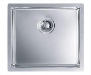 1102605 Мойка кухонная Alveus QUADRIX 40 SAT-90 500 x 450 x 200