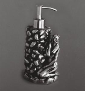 AM-B-0071A-T Дозатор мыла,серебро