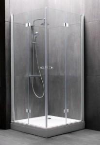 Terra Flat TKK 100 Душевой уголок Kolpa-San, 100 x 100 х 200 см, стекло прозрачное