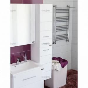 Шкаф-пеналСаНтаОмега 30507002, подвесной, цвет белый