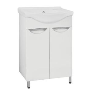ЛС-00000034 Зеркало-шкаф Style Line Жасмин 60, белый