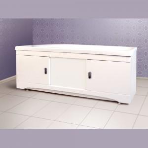 1125 Экран для ванны Alavann МДФ 150 см, белый