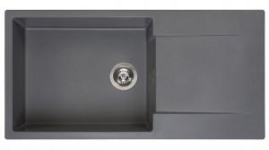 R30813 Мойка кухонная Reginox Amsterdam 540 100 x 50 см Grey Silvery