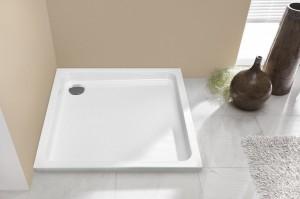 5593 Душевой поддон Hoesch TEMUCU 100 x 100 x 6,5 см, , квадратный, из искусственного камня