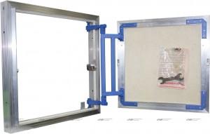 AL-KR 60x60 Сантехнический люк под плитку Люкер (ширина/высота)