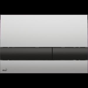 M1712-8 Кнопка управления AlcaPlast хром-матовая/черная