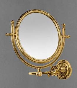 AM-2109-Br Увеличительное зеркало подвесное ,бронза