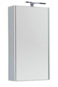 Зеркало-шкаф Aquanet Августа 00210007 50x90 см настенное, цвет белый