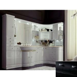 Комплект мебели Eurodesign Luxury Композиция № 5, Nero Lucido/Черный окрашеный