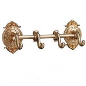 Планка на четыре крючка Hayta Gabriel Classic Gold 13902-4/GOLD