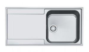 127.0282.420 Мойка Franke MARIS MRX 211 G,, установка сверху, SlimTop, оборачиваемая, нержавеющая сталь, полированная, 100*51 см