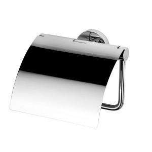 Держатель туалетной бумаги с крышкой Geesa Nemox 6508-02 VSTV