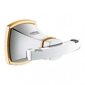Крючок Grohe Grandera 40631IG0, хром/золото