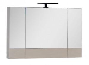 Зеркало-шкаф Aquanet Нота 100 (камерино) 00158859, цвет светлый дуб