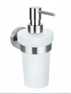 Дозатор жидкого мыла Bemeta Neo 104109016 8 x 10 x 18 см настенный, хром матовый
