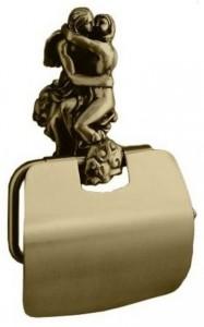 AM-B-0819-B Держатель для туалетной бумаги, бронза