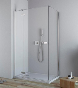 384043-01-01L/384050-01-01 Душевой уголок Radaway Fuenta New KDJ 90 x 80 см, левая дверь