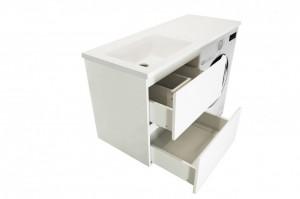 Комплект мебели Эстет Dallas Luxe 100 2 ящика (тумба с раковиной) ФР-00002314, левый/правый