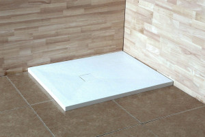 16152912-01 Душевой поддон RGW ST-0129W 90 x 120 см, прямоугольный, цвет белый, из искусственного камня