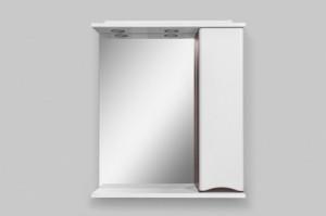 Зеркальный шкаф Am.Pm Like M80MPR0651VF 65см, венге, с подсветкой