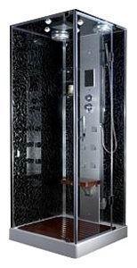 AQ-617-GFS Душевая кабина Aqualux AQ-617GFS 90 x 90 см с гидромассажем