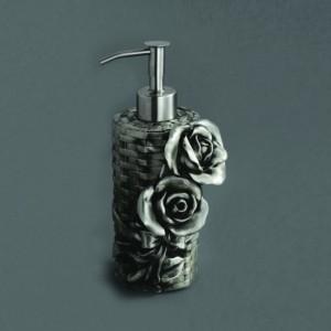 AM-B-0091A-T Дозатор мыла, серебро