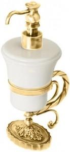 Дозатор жидкого мыла Migliore Edera ML.EDR-60.317.DO - золото