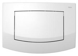 9240100 Панель TECE Ambia 9 240 100 с одной клавишей смыва, белая