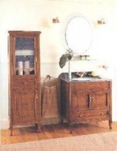 Комплект мебели Labor Legno VICTORIA Composizione H 103, орех/бронза, 75 см