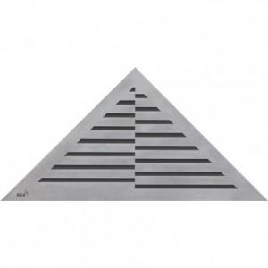 Time Решетка водосточная треугольная Alca Plast