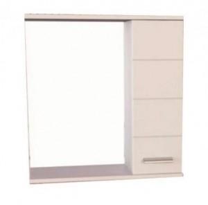 Зеркальный шкаф Comforty Модена 60 белый