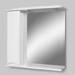 Зеркальный шкаф Am.Pm Like M80MPR0801WG 80см, белый, с подсветкой