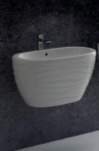 23LV Раковина Ceramica Ala Wave 67 x 49 х 38 см подвесная
