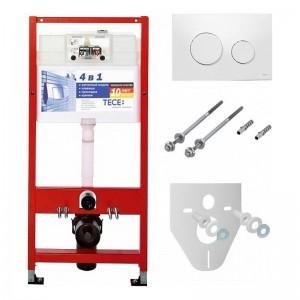 K400600 Инсталляция TECE Loop К400600 4 в 1 с кнопкой смыва для унитаза