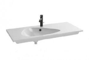 EXAQ112-Z-00 Раковина мебельная Jacob Delafon Nouvelle Vague, накладная, белый глянцевый, 101 х 51 см