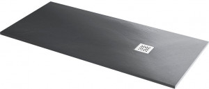 14152818-02 Душевой поддон RGW ST-188G 80 x 180 см, прямоугольный, цвет серый, из искусственного камня