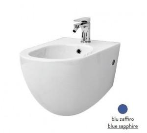 FLB001 16; 00 Биде ArtCeram File 2.0, подвесное, цвет - blu zaffiro (синий сапфир)