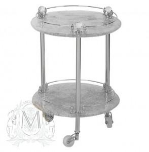 Столик на колесиках Migliore.CRistalia ML.CRS-60.249.CR - хром
