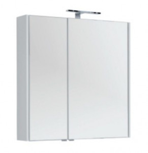 Зеркало-шкаф Aquanet Августа 00210013 90x90 см настенное, цвет белый