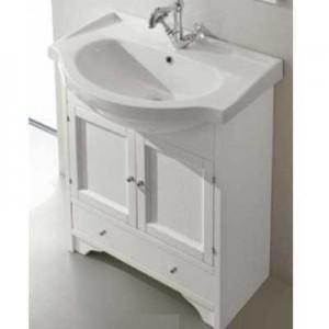 FBSCR075-B bi decape*4/FPLEB075-B*1 Комплект мебели для ванной Eban Carla 75 FBSCR075-B bi decape*4, белый