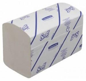Бумажные полотенца Kimberly-Clark Scott Xtra 6677 (Блок: 15 уп. по 320 шт
