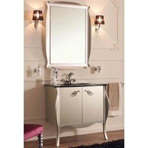 Комплект мебели Labor Legno COMPOSIZIONE RITZ 87, белый/хром
