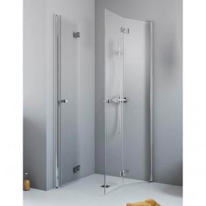 385071-01-01L/385070-01-01R Душевой уголок Radaway Essenza New KDD-B 90 х 80 с дверями типа Bi-fold, с порогом