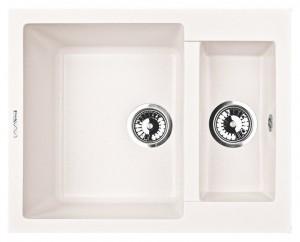 D1.LAT Кухонная мойка Lava, цвет LATTE белый