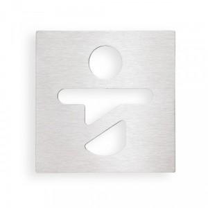 Табличка «Помещение для переодевания детей» Bemeta Hotel 111022065, хром матовый