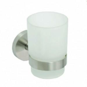 Стакан для зубных щеток Bemeta Neo 104110015 7 x 10.5 x 9.5 см, хром матовый