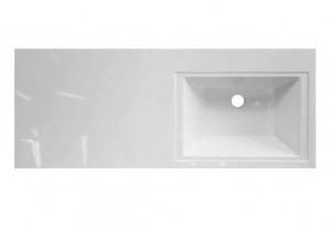 ФР-00001528 Раковина Эстет Даллас 120, правая, 120.2 х 48.2 х 14.5 см