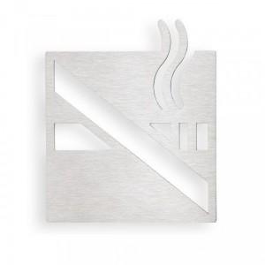 Табличка «Курить запрещено» Bemeta Hotel 111022055, хром матовый