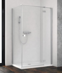 385043-01-01R/384051-01-01 Душевой уголок Radaway Essenza New KDJ 80 x 80 см, правая дверь