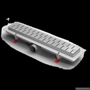 ALP-850M1 Душевой водоотводящий желоб Alpen Medium 850 мм хром матовый